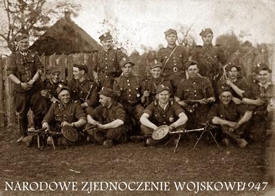 Żołnierze Wyklęci Ziemi Łomżyńskiej. Narodowe Zjednoczenie Wojskowe 1945-1948